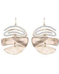 Alexis Bittar - Crystal Encrusted Spiral Mobile Earrings - Lyst