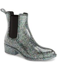 Jeffrey Campbell - Stormy Water-Resistant Rainboots  - Lyst