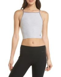 Nike - Power Dry Cropped Tank - Lyst