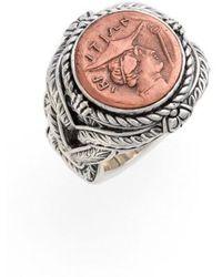 Konstantino - 'aeolus - Hermes' Coin Ring - Lyst
