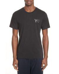 Y-3 - Short Sleeve Logo Tee - Lyst