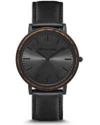ORIGINAL GRAIN | Minimalist Leather Strap Watch | Lyst