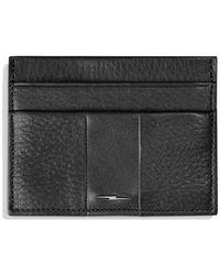 Shinola - Bolt Leather Card Case - Lyst