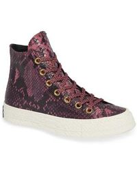 Converse - Chuck Taylor All Star Ct 70 Reptile High Top Sneaker - Lyst