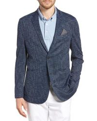 Vince Camuto - Houndstooth Performance Mesh Blazer - Lyst