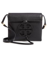 9ed82c66eba3 Tory Burch - Miller Leather Crossbody Bag - Lyst