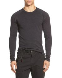 Smartwool - Long Sleeve Thermal T-shirt - Lyst