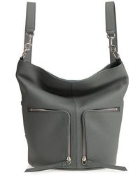 AllSaints - Small Fetch Leather Backpack - - Lyst