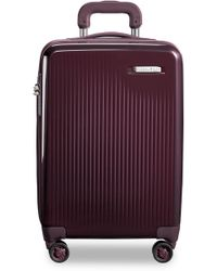 Briggs & Riley 22-inch Domestic Expandable Spinner Wheeled Carry-on - Purple - Multicolour