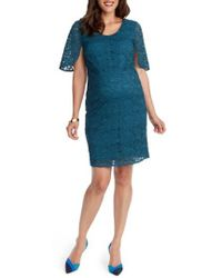 Rosie Pope - Lainey Lace Maternity Sheath Dress - Lyst
