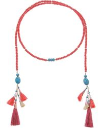 Nakamol - S Lariat With Tassels - Lyst
