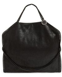 Stella McCartney - Falabella Shaggy Deer Faux Leather Tote - Lyst
