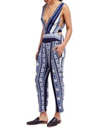 Free People - All Shook Up Jumpsuit - Lyst