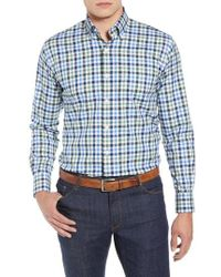 Peter Millar - Crown Ease Arendale Check Sport Shirt - Lyst
