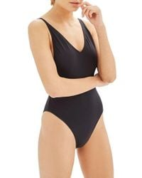 TOPSHOP - Pamela One-piece Swimsuit - Lyst