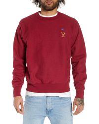 Champion - Reverse Weave Snoopy Sweatshirt - Lyst