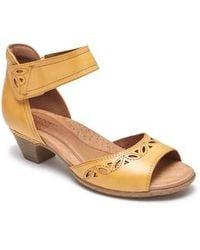 Cobb Hill - Abbott Perforated Sandal - Lyst