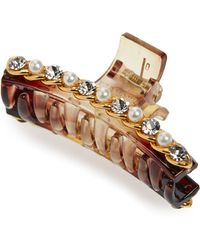 Cara - Embellished Jaw Clip - Lyst