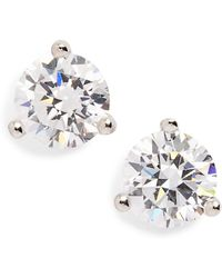 Nordstrom - 1ct Tw Cubic Zirconia Earrings - Lyst
