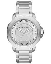 Armani Exchange - Three-hand Bracelet Watch - Lyst