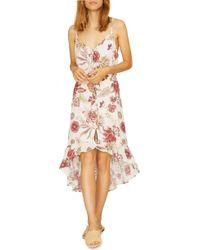 Sanctuary - Palm Springs Printed High-low Sleeveless Dress - Lyst