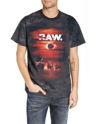 G-Star RAW - Cyrer Loose Sunset T-shirt - Lyst