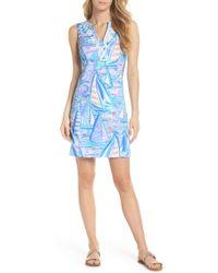 Lilly Pulitzer - Lilly Pulitzer Harper Sleeveless Sheath Dress - Lyst