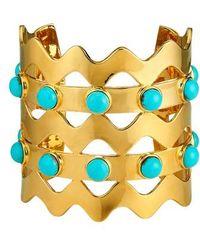Asha - Jagger Cuff Bracelet - Lyst