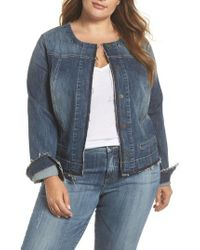 Kut From The Kloth - Tina Denim Jacket - Lyst