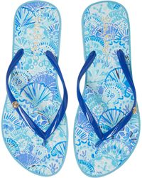 Lilly Pulitzer - Lilly Pulitzer Print Flip Flop - Lyst