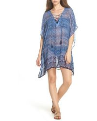 Tommy Bahama | Indigo Cowrie Diamonds Cover-up Tunic | Lyst