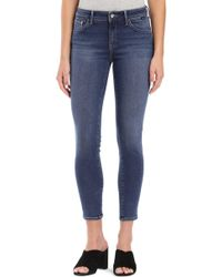 Mavi Jeans - Adriana Supersoft Ankle Skinny Jeans - Lyst