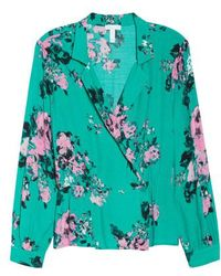 Leith - Floral Top - Lyst