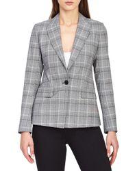 Reiss - Ora Check Plaid Jacket - Lyst