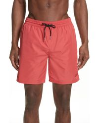 Burberry - Guildes Swim Trunks - Lyst