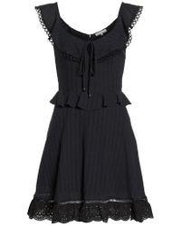 Heartloom - Kasey Peplum Fit & Flare Dress - Lyst