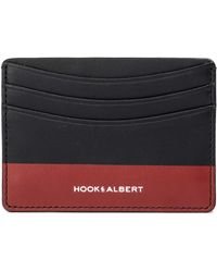 Hook + Albert - Leather Card Case - Lyst