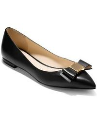 Cole Haan - Tali Bow Skimmer Flat - Lyst