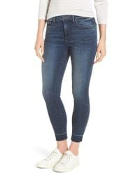 NYDJ - Ami Wide Release Hem Super Skinny Jeans - Lyst