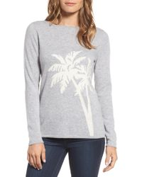 Tommy Bahama - Island Palm Intarsia Cashmere Pullover - Lyst