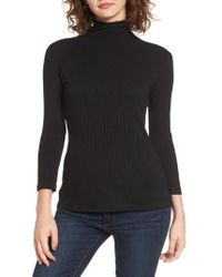Amour Vert - Katrin Ribbed Turtleneck - Lyst