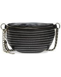 Steve Madden - Quilted Faux Leather Fanny Pack - - Lyst