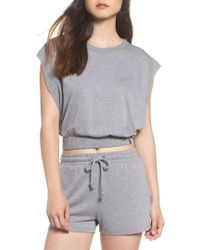 Joe's - Cutoff Sweatshirt - Lyst