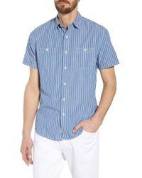 Grayers - Larkin Stripe Sport Shirt - Lyst