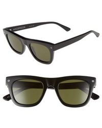 Electric - Andersen 49mm Sunglasses - Gloss Black/ Grey - Lyst