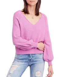 Free People - Found My Friend Sweater - Lyst