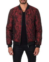 Jared Lang - New York Reversible Bomber Jacket - Lyst