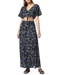 Sanctuary - Phoenix Two-piece Maxi Dress - Lyst