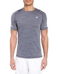 New Balance - Seasonless Crewneck T-shirt - Lyst