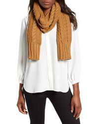 MICHAEL Michael Kors - Cable Knit Muffler - Lyst
